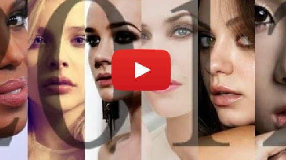 2012年のもっとも美しい女性達、トップ100の画像