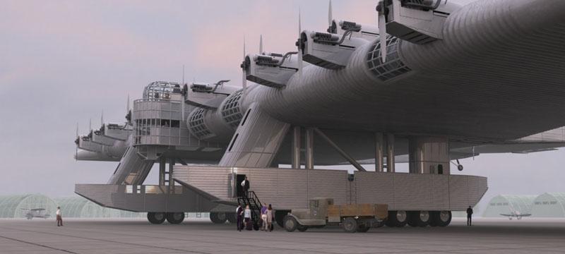 【おそロシア】ロシアが作った飛行要塞がヤバイ