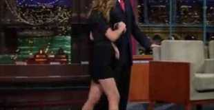 【動画】ハリウッド女優の美脚に回りも気にせず凝視してしまう。