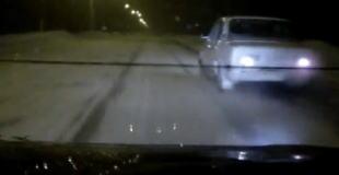 【動画】深夜に道路で人をはねてしまった、、、