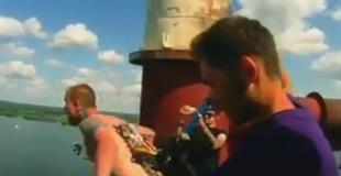 【動画】このバンジージャンプの映像はやばいって…