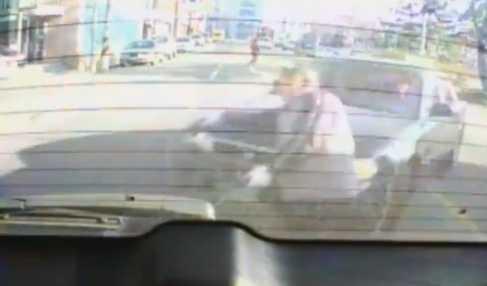 【動画】車と車の間に挟まれるとこうなります