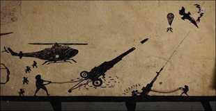 【画像】タリバンVS米陸軍による落書き戦争