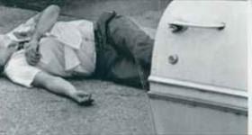 【画像】暗殺の現場を撮影した写真