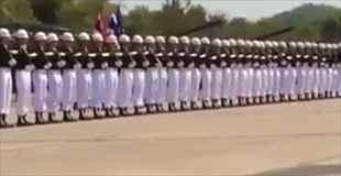 【動画】タイの軍事パレードがEXILEみたいだと話題に