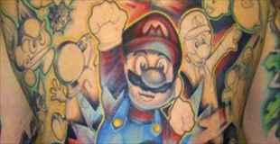【画像】ゲーマー達が入れたタトゥーがクレイジーすぎる