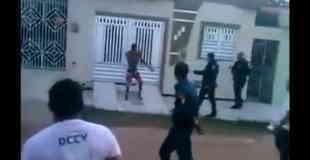【動画】薬物中毒のUFC選手を肉弾戦で逮捕。