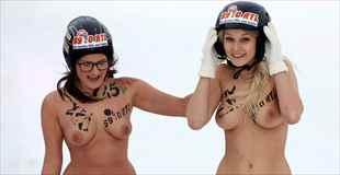 【エロ注意】ドイツで行われている裸の冬季裏オリンピックがエロ過ぎて参加したい