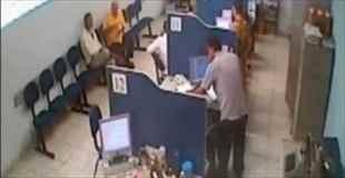 【動画】待合室がちょっとしたことで殺人現場に