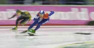 【動画】もしスピードスケートがマリオカートだったら?