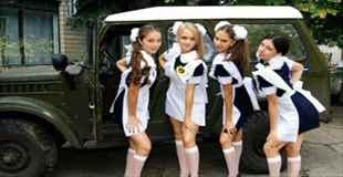 【画像】ロシアの高校生達