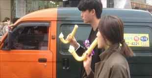 【画像】韓国で流行っているアイスクリームがなんだか変