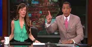 【動画】ロサンゼルスで起こった地震の瞬間のニュースキャスター