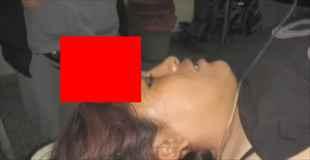 【閲覧注意】頭にドライバーが刺さった女性が運ばれてきた