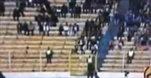 【動画】サッカー中継のカメラに確実に幽霊が映りこむ