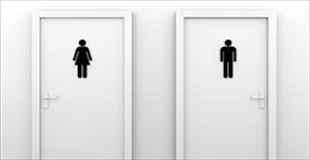 【画像】トイレのドアが開かなくなった女性、最終手段として…