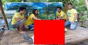 【画像】フィリピンの動物園で行われるマッサージがマジキチ