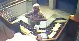 【動画】海外のジュエリーショップはしょっちゅう強盗がやってくるイメージ