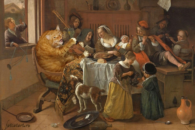steen-jan_the-merry-family-cat-wjpeg