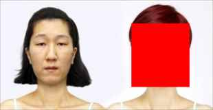 【画像】コレが韓国女性の詐欺メイクだ!