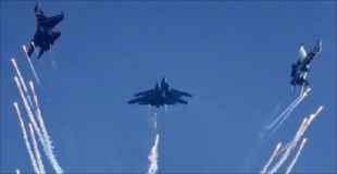 【動画】戦闘機が飛んだ空に天使が出現しました