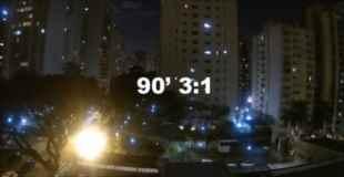 【動画】W杯でブラジルが得点したときの街はこんな感じらしい