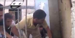 【動画】シリアにいたらいつどこで爆発が起こるかわかりっこない