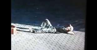 【閲覧注意】路上で昼寝をした結果…。