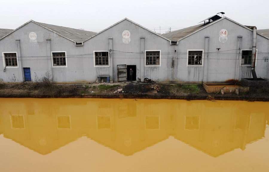 【画像】中国の環境汚染、もう手遅れなんじゃないか?
