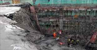 【画像】中国のショッピングセンターの最上階が崩壊