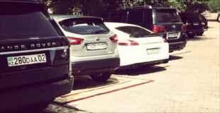 【画像】カザフスタンのVIP待遇の駐車場がコレらしい