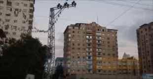 【動画】ガザ地区のアパートを爆破し倒壊させるテロリスト
