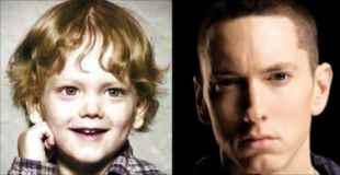 【画像】あの頃みんな若かった、スターの子供時代比較写真