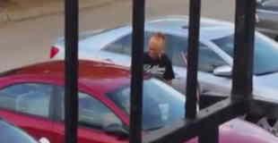 【閲覧注意】ドライバー同士のトラブルで女性の何かが取れてる…。