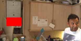 【画像】キッチンに現れた招かれざる客