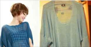 【画像】ネットで服を購入したら実物が全然違ってた