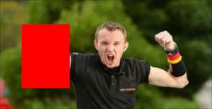 【画像】ドイツのアームレスリングチャンピオンの右腕ww