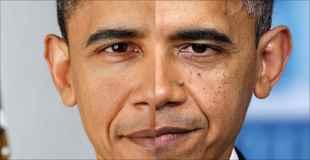 【画像】オバマがこの5年間でどれだけ老けたか確認してみましょう