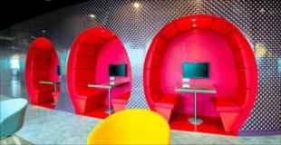 【画像】会社に泊り込んじゃうほど居心地がいいGoogle欧州本部の内部