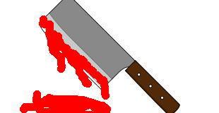 【閲覧注意】中華包丁で斬首される男性…。