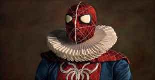 【画像】アメコミヒーローや映画のキャラが16世紀風のコスチュームを着てみたら…