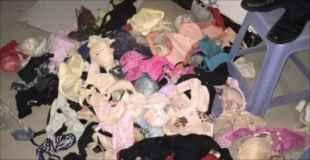 【画像】2000枚の下着を盗んだ中国人を逮捕