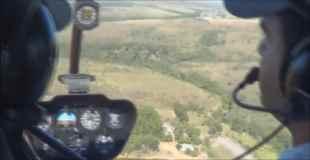 【動画】ヘリコプターが墜落していく瞬間を内部から撮影