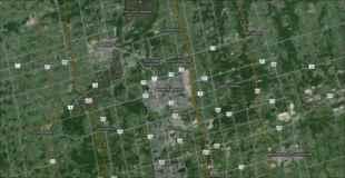【画像】カナダの健康センターを上空から見たらこんな形だった