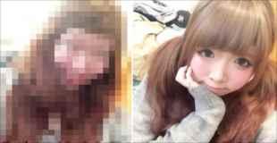 【閲覧注意】日本の女の化粧ワロタww
