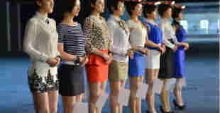 【画像4枚】警護が必要な人必見w中国の女性ボディーガードが美人揃いな件wwwww