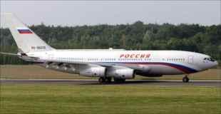 【おそロシア】プーチン大統領専用の旅客機が…
