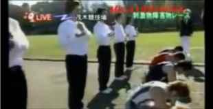 日本のTV企画で行われたレースがキチ○イすぎると話題に。(動画)