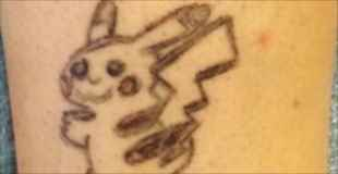 【画像】タトゥー失敗した!でもいい感じに修正してもらいました!