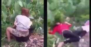【閲覧注意】女同士の小競り合いが殺人事件に変わる。(動画)